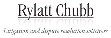 Rylatt Chubb - Litigation and dispute resolution solicitors